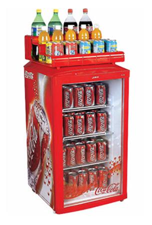 Glass Door Beverage Refrigerated Showcase Amp Display Cooler